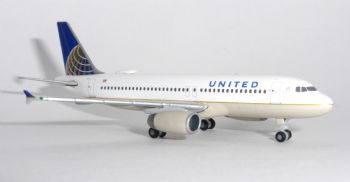 Airbus A320 United Airlines Herpa Collectors Model Scale 1:500 531252 7.5 cms  E